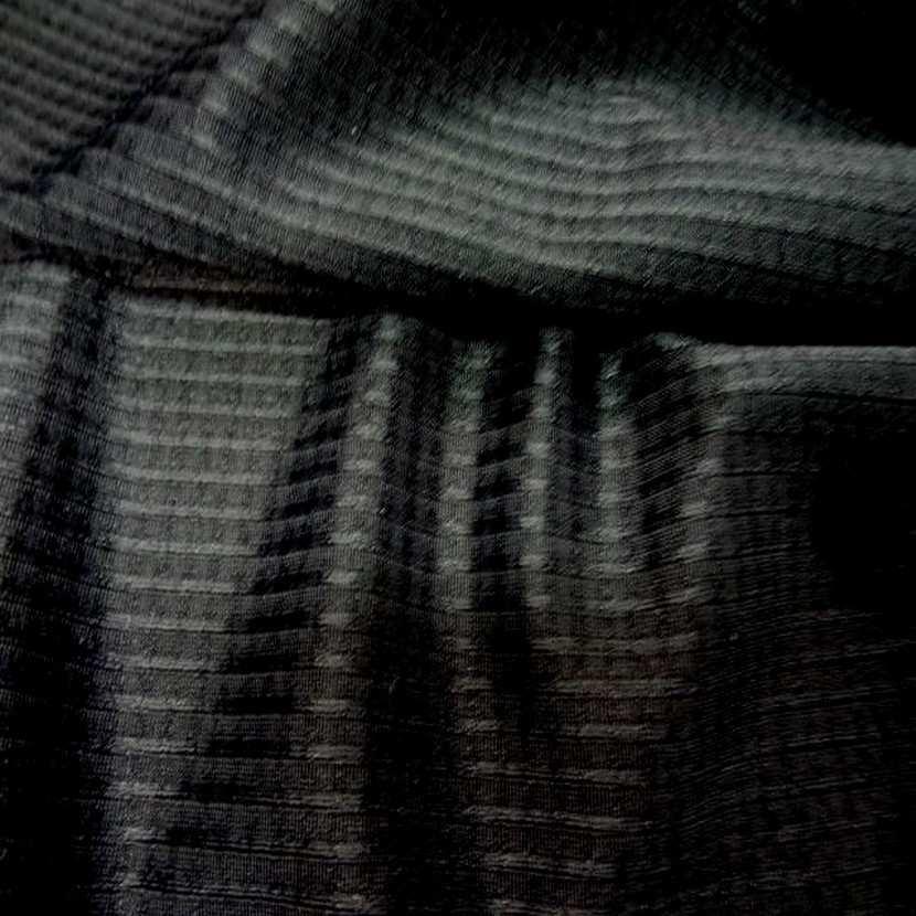 Lycra faconne noir5