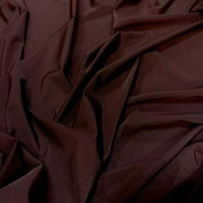 Lycra fin satine marron rouille en 1 45m de large
