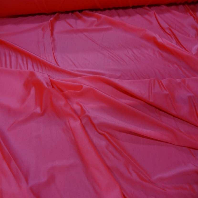 Lycra fin satine sorbet fraise en 1 45 m de large8