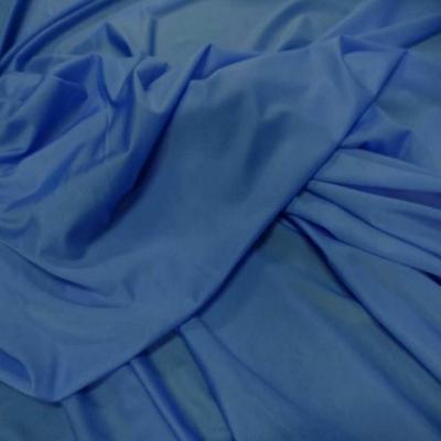 Lycra fin satine ton bleu
