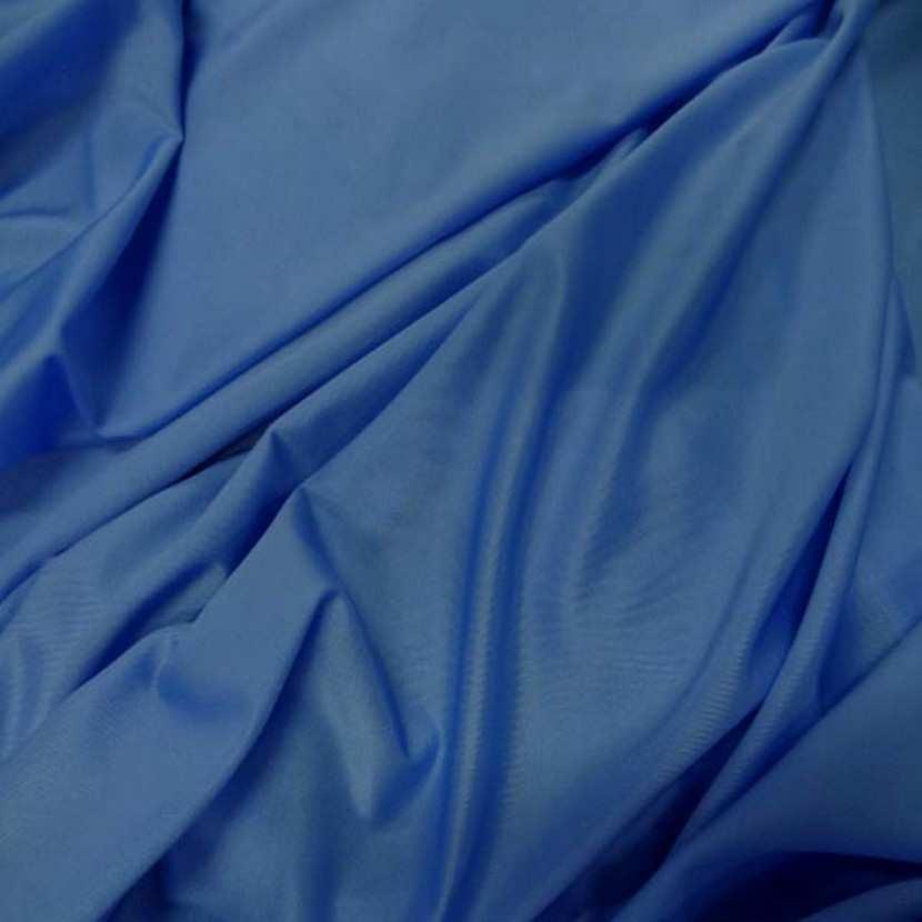 Lycra fin satine ton bleu2