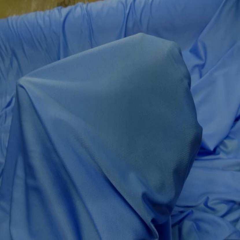 Lycra fin satine ton bleu9
