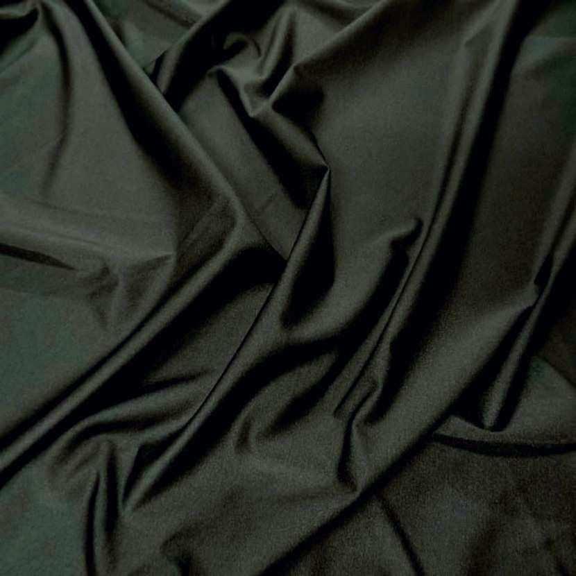 Lycra fin satine ton kaki fonce2