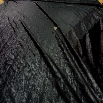 Lycra noir faconne