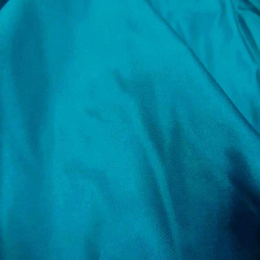 Lycra satine bleu jade3
