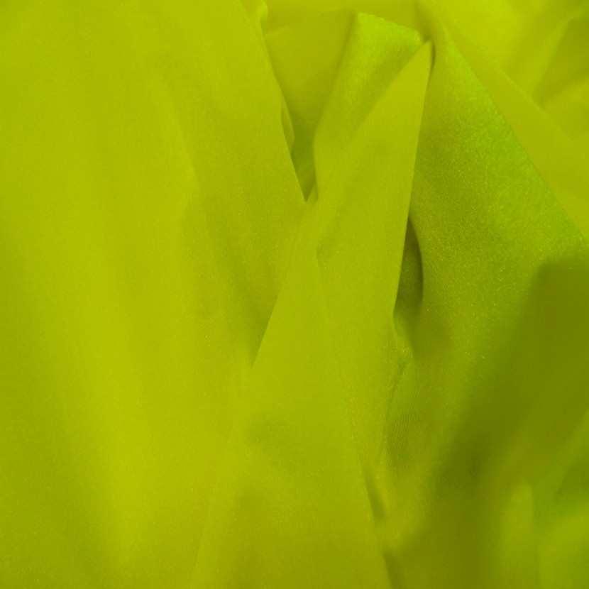 Lycra tres fin jaune citron en 1 55 m de large