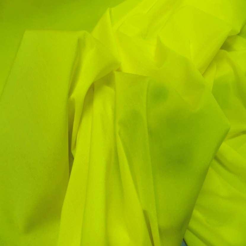 Lycra tres fin jaune citron en 1 55 m de large0