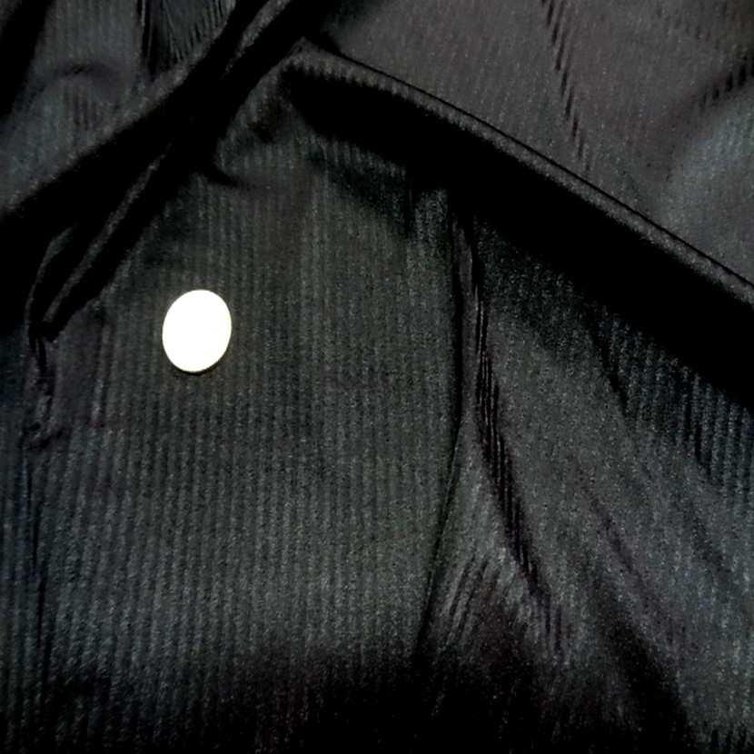 Lycra tres fin noir a rayures en 1 60m l6