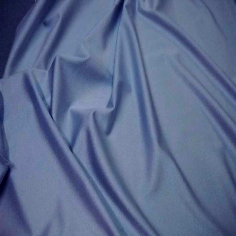 Lycra uni satine gris bleu4