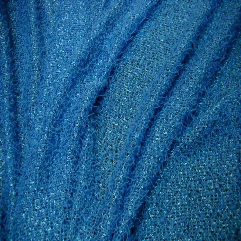 Maille jersey bleu