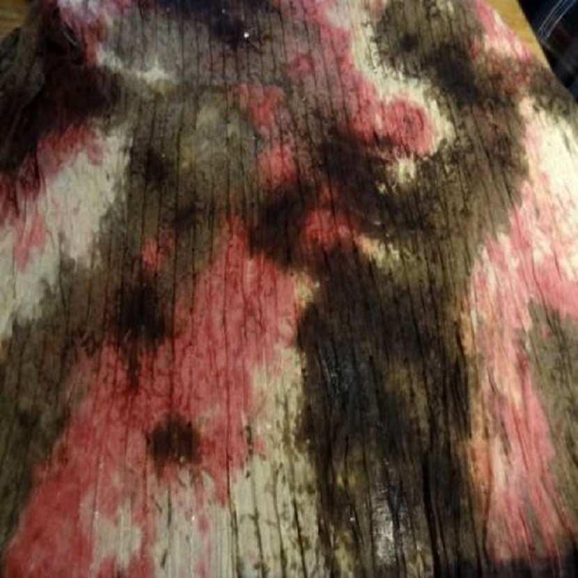 Maille jersey coton fine marbree a sequins 3m