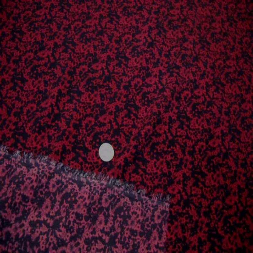 Microfibre imprime rouge noir3