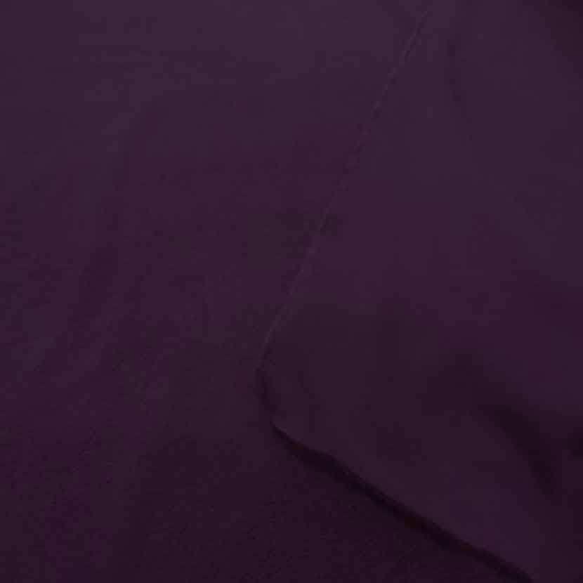 Molleton pour jogging jersey prune7