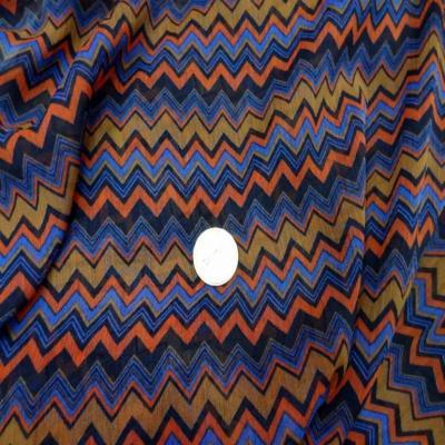 Mousseline crepon ne imprime en polyester