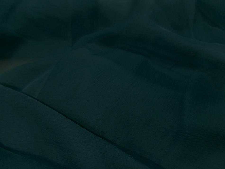 Mousseline de soie 100 crepon ne bleu canard en 0 90m5