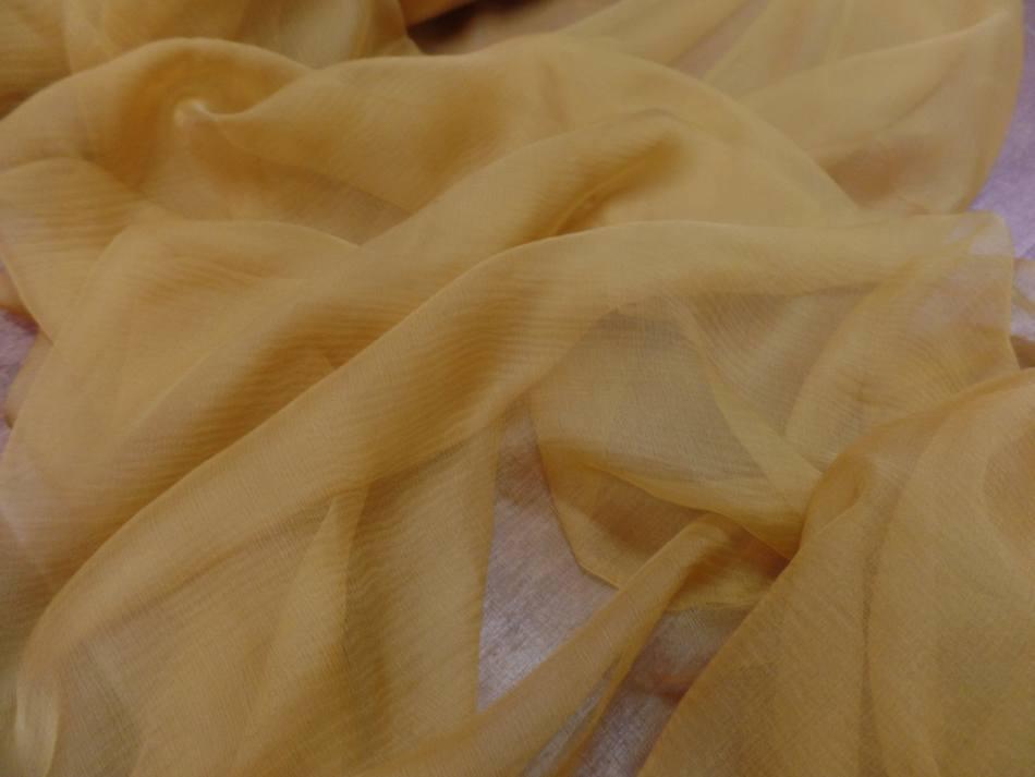 Mousseline de soie 100 crepon ne dore9