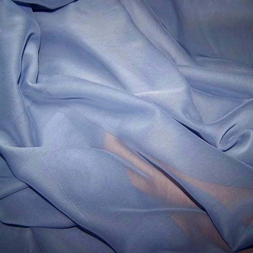 Mousseline polyester uni lavande