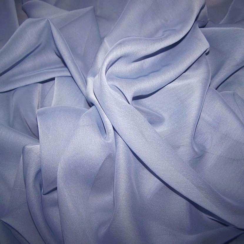 Mousseline polyester uni lavande0