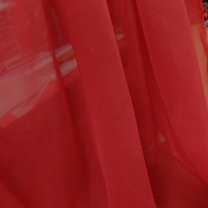 Mousseline rouge