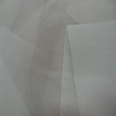 Organza de soie 100 ecrue en 1 40l9