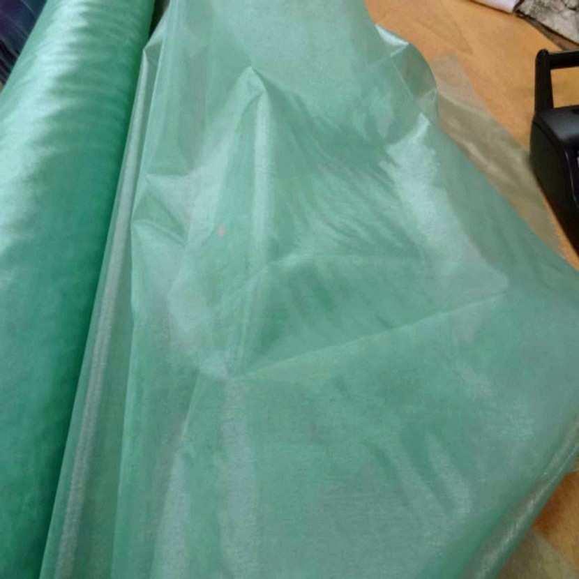 Organza vert d eau en 1 35m de large