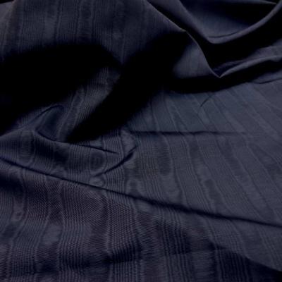 Ottoman moire bleu indigo