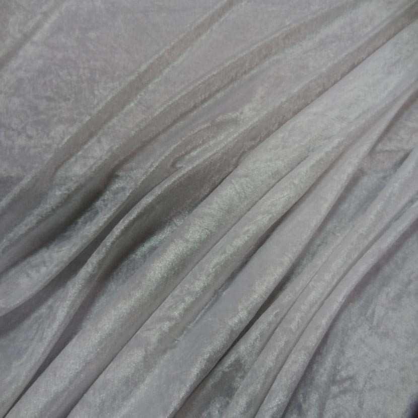 Panne de velours blanche0