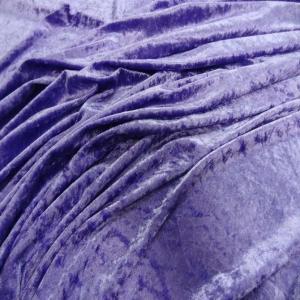 Panne de velours lavande 1