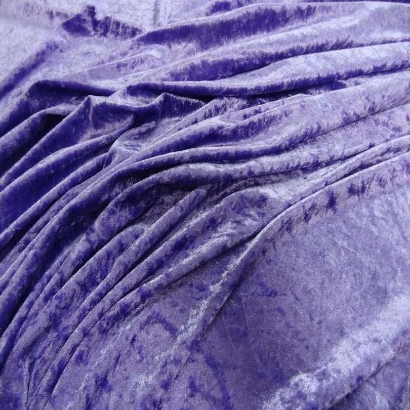 Panne de velours lavande