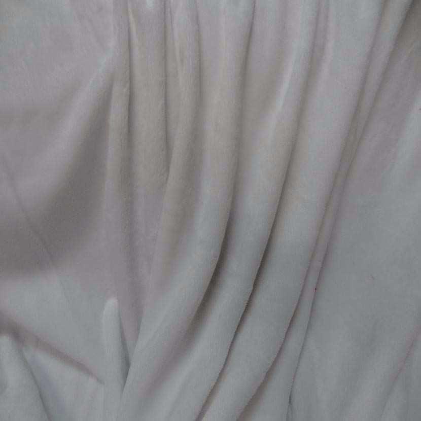 Polaire double face doudou toucher pilou blanche4