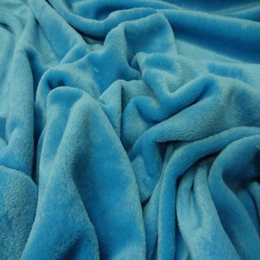 Polaire double face doudou toucher pilou bleu glacier2