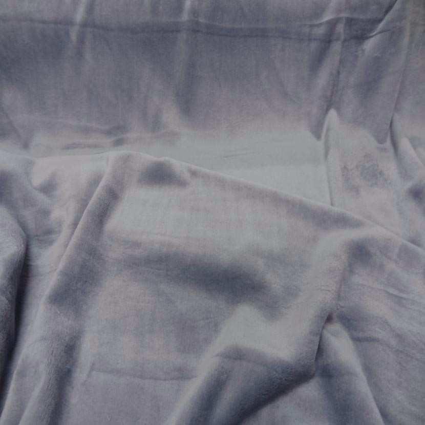 Polaire double face doudou toucher pilou gris perle6