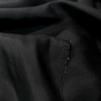 Ponge de soie 100 noir en 1 45m de large