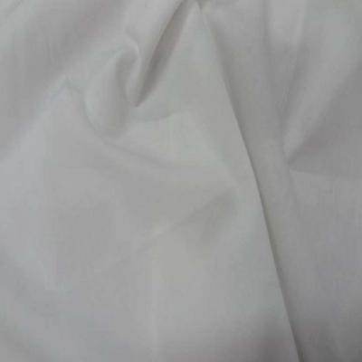 Popeline coton blanche