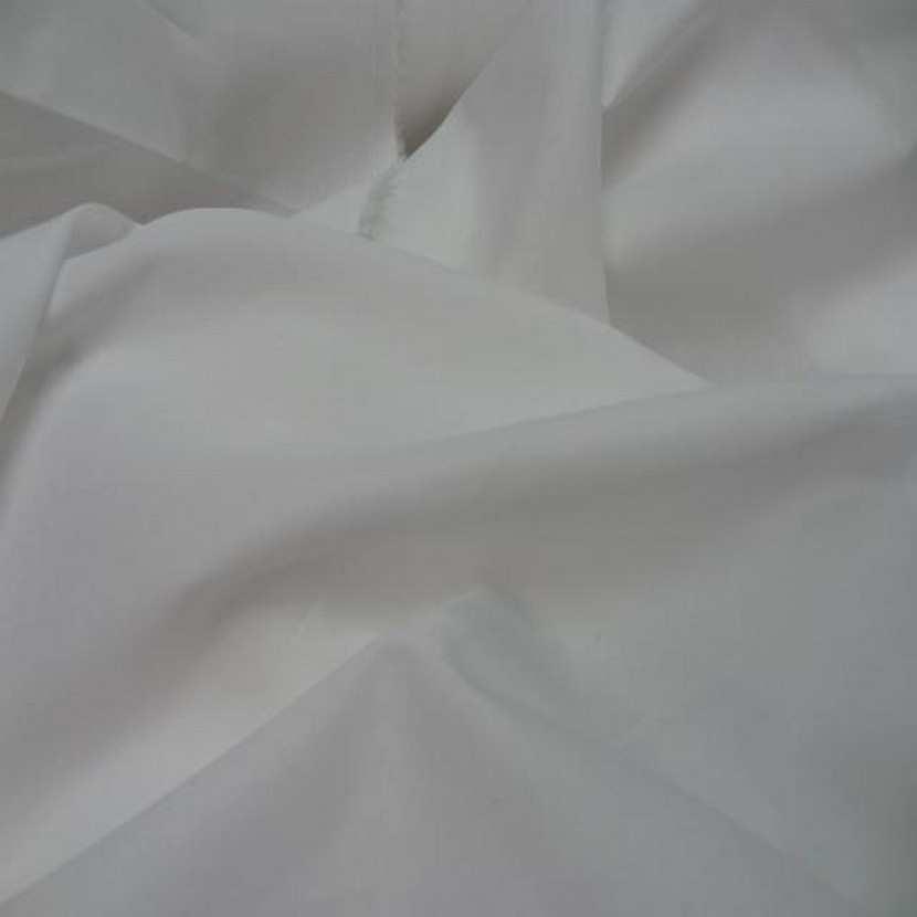 Popeline coton blanche pas cher