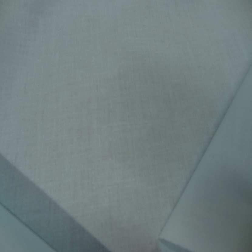 Popeline coton bleu lagon768