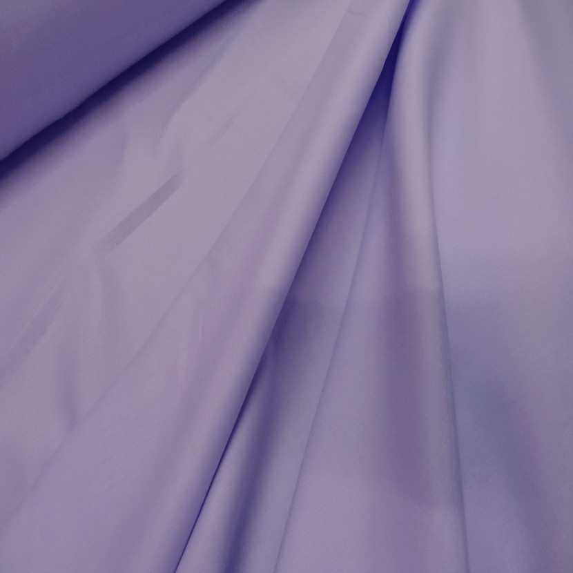 Popeline coton mauve lavande0