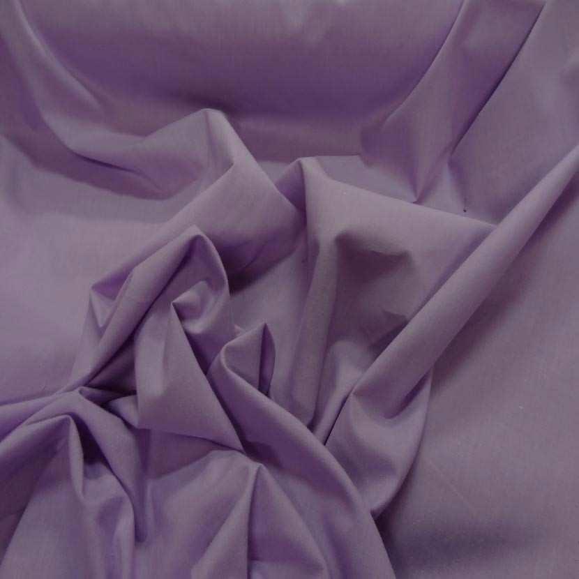 Popeline coton mauve rose3