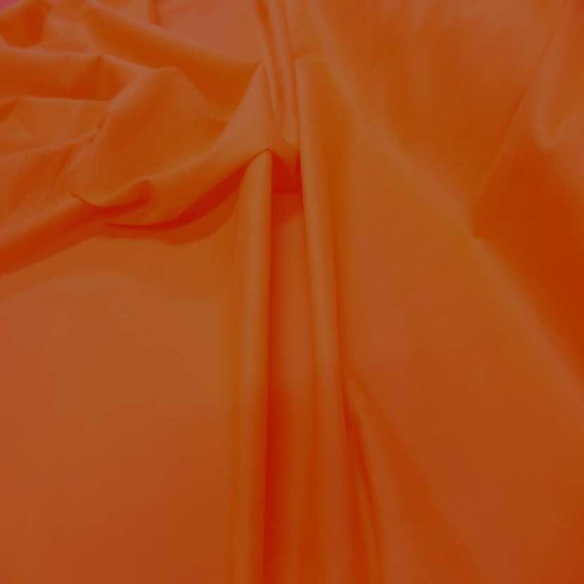 Popeline coton orange7