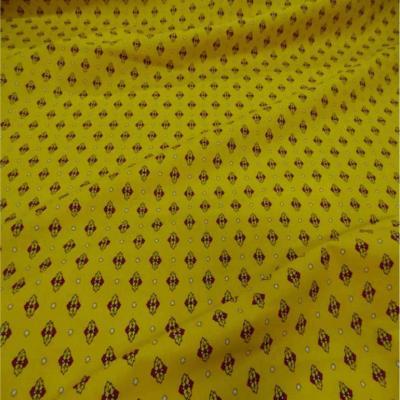 Provencal en coton ton jaune