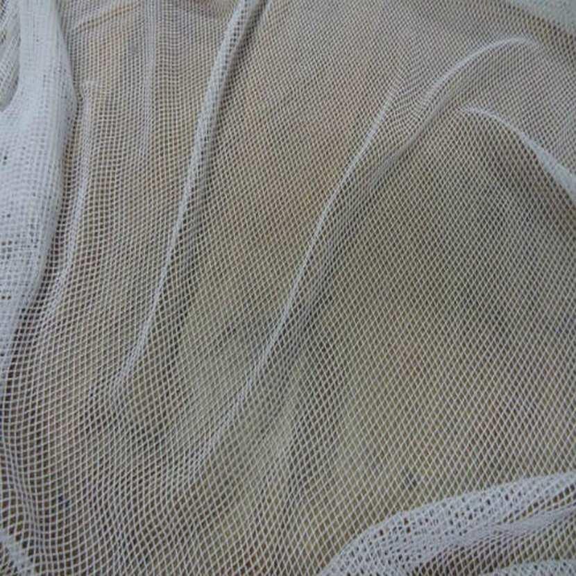 Resille filet lycra blanche en 1 70m de large 2