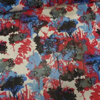 tissu résille lycra imprimé ton rouge ,noir ,blanc ,bleu pas cher