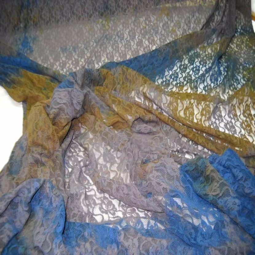 Resille marron imprime et brode1