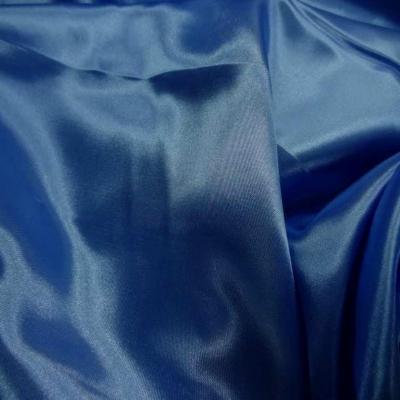 Satin bleu turquoise en 1 50m de large