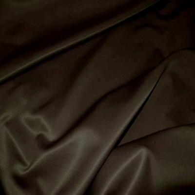 Satin epais ton marron