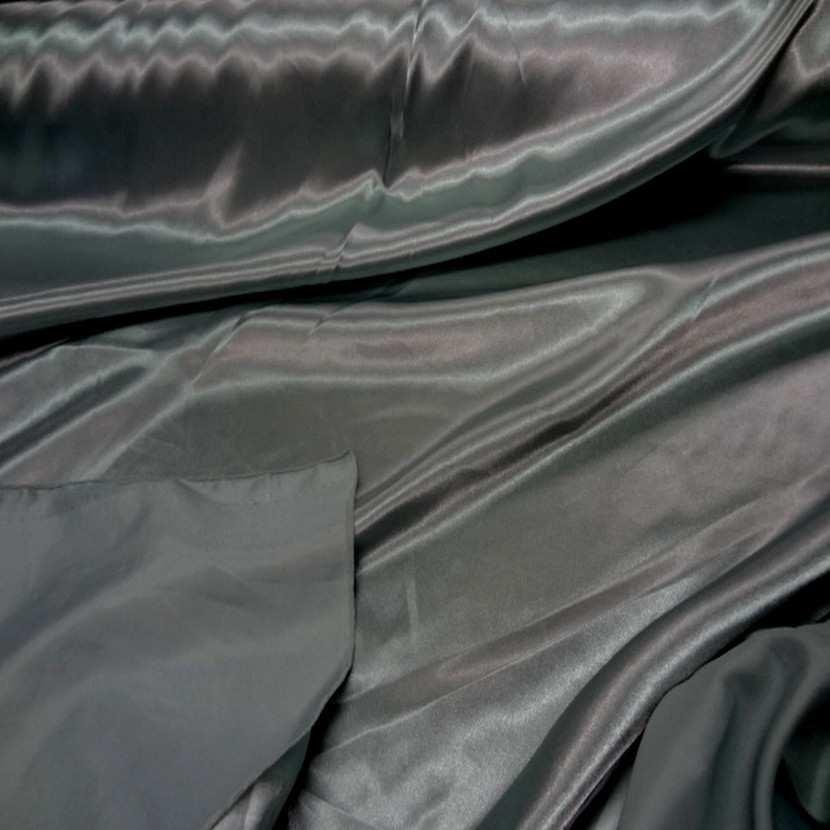 Satin vert changeant kaki clair metallise5