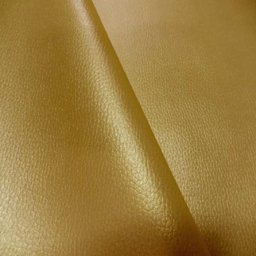 Simili cuir jaune dore en 1 40m de large8