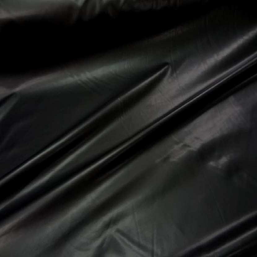 Simili cuir lycra fin noir aspect latex