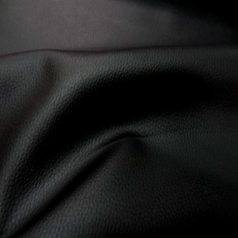 Simili cuir noir en 1 40m l