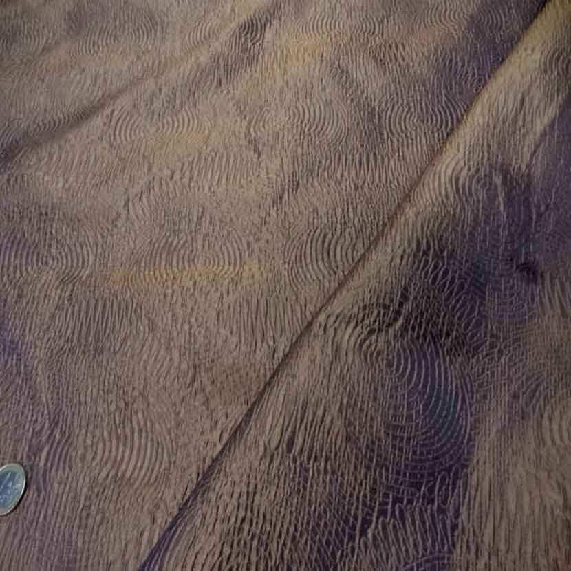 Soie 100 faconne changeant dore bleu3
